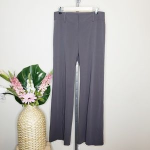 CAbi 337L Gray Wide Leg Trouser Career Pants